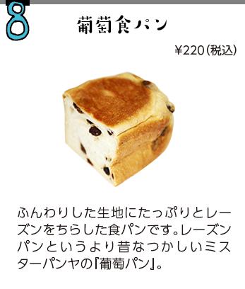 葡萄食パン